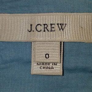 J. Crew Dresses - J. Crew 0 Hawaiian Sunset Linen Blend Carrie Dress